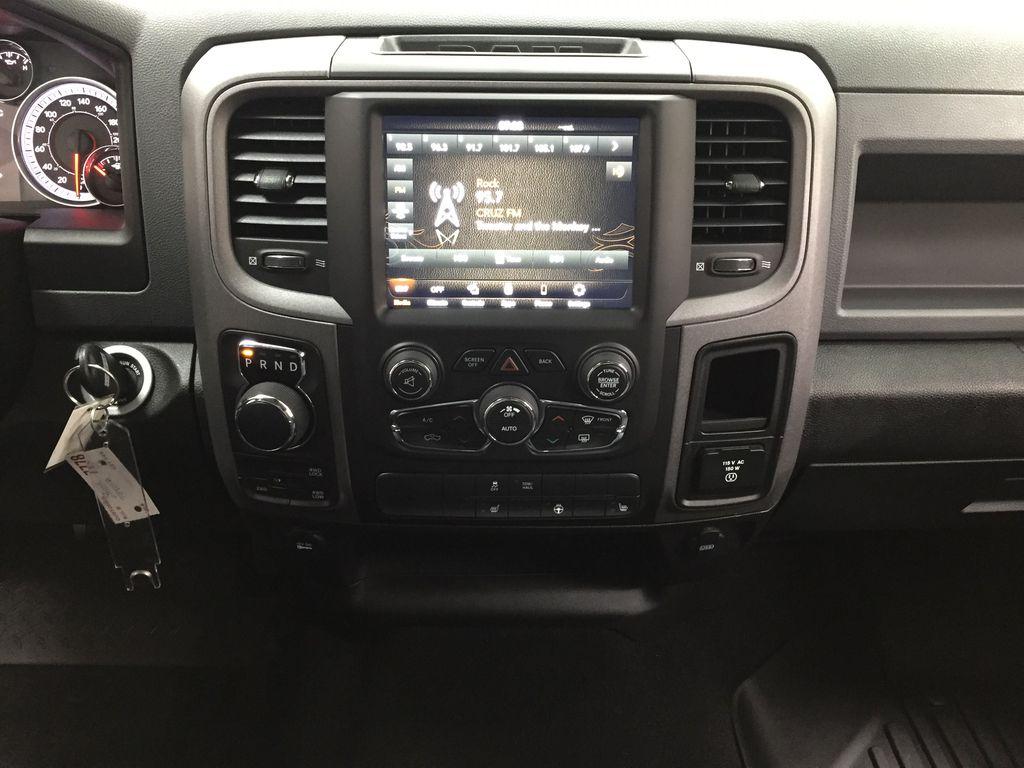 Black[Black] 2020 Ram 1500 Classic CREW CAB 4X4 5.7L HEMI Central Dash Options Photo in Sherwood Park AB