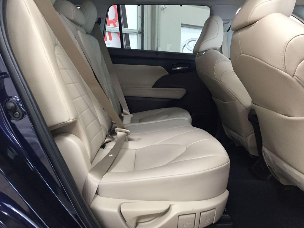 Blue[Blueprint] 2020 Toyota Highlander XLE Right Side Rear Seat  Photo in Sherwood Park AB