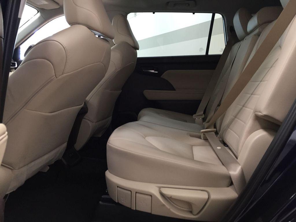 Blue[Blueprint] 2020 Toyota Highlander XLE Left Side Rear Seat  Photo in Sherwood Park AB