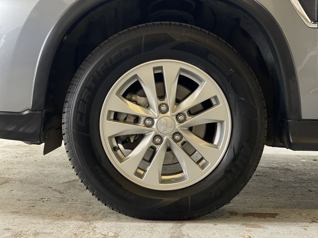 GRAY 2020 Mitsubishi RVR SE - Hail Sale!! Priced To Sell!! Left Front Rim and Tire Photo in Edmonton AB
