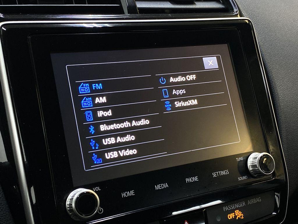 GRAY 2020 Mitsubishi RVR SE - Hail Sale!! Priced To Sell!! Radio Controls Closeup Photo in Edmonton AB