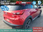 Red[Soul Red Mica] 2016 Mazda CX-3 GT AWD - Leather, Sunroof, NAV, Backup Cam, Bluetooth Right Rear Corner Photo in Winnipeg MB