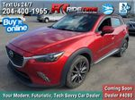 Red[Soul Red Mica] 2016 Mazda CX-3 GT AWD - Leather, Sunroof, NAV, Backup Cam, Bluetooth Primary Photo in Winnipeg MB