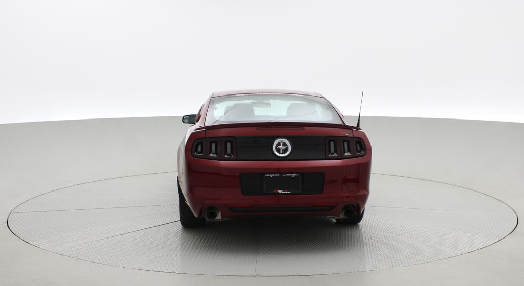 Red[Ruby Red Tinted Clearcoat] 2014 Ford Mustang V6 - Automatic, SUPER LOW KMs, Ruby Red Tinted Rear of Vehicle Photo in Winnipeg MB