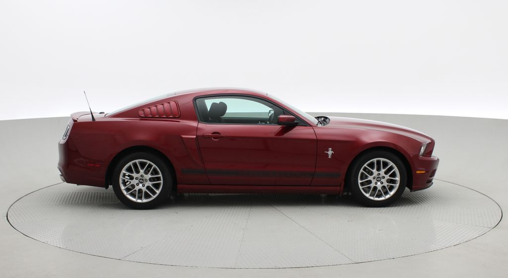 Red[Ruby Red Tinted Clearcoat] 2014 Ford Mustang V6 - Automatic, SUPER LOW KMs, Ruby Red Tinted Right Side Photo in Winnipeg MB