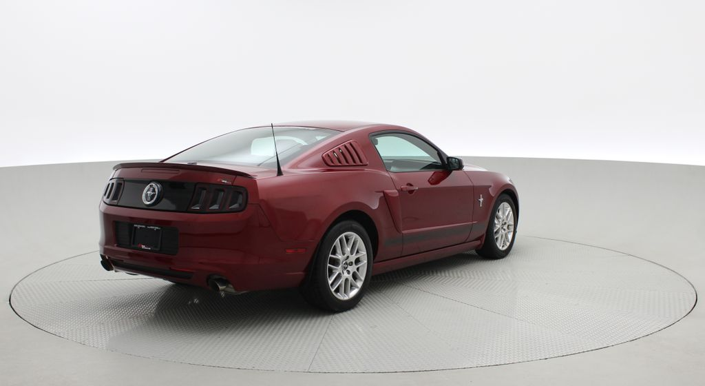 Red[Ruby Red Tinted Clearcoat] 2014 Ford Mustang V6 - Automatic, SUPER LOW KMs, Ruby Red Tinted Right  Rear Corner Photo in Winnipeg MB