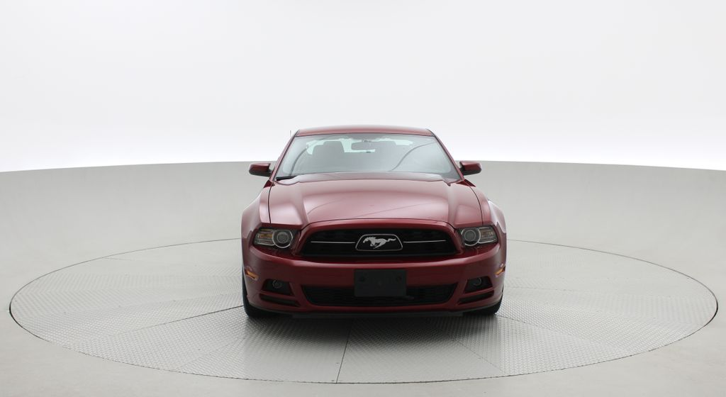 Red[Ruby Red Tinted Clearcoat] 2014 Ford Mustang V6 - Automatic, SUPER LOW KMs, Ruby Red Tinted Front Vehicle Photo in Winnipeg MB