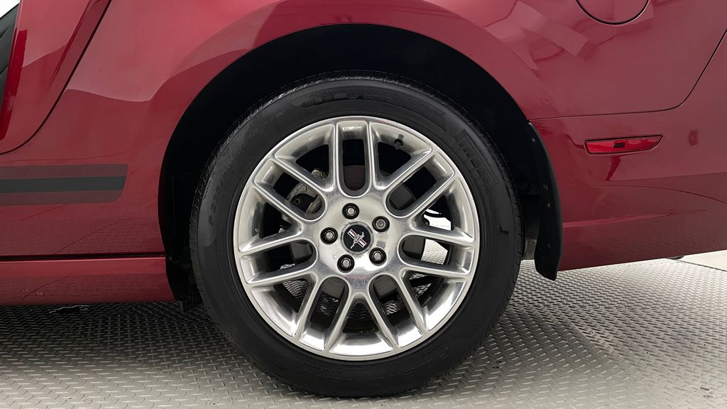 Red[Ruby Red Tinted Clearcoat] 2014 Ford Mustang V6 - Automatic, SUPER LOW KMs, Ruby Red Tinted Left Rear Rim and Tire Photo in Winnipeg MB