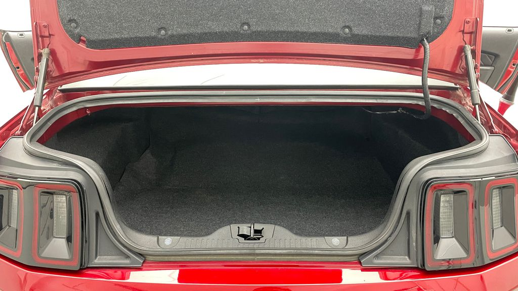 Red[Ruby Red Tinted Clearcoat] 2014 Ford Mustang V6 - Automatic, SUPER LOW KMs, Ruby Red Tinted Trunk / Cargo Area Photo in Winnipeg MB