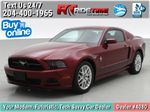 Red[Ruby Red Tinted Clearcoat] 2014 Ford Mustang V6 - Automatic, SUPER LOW KMs, Ruby Red Tinted Primary Photo in Winnipeg MB