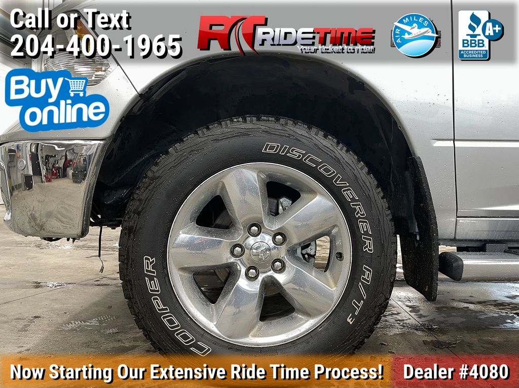 Silver[Bright Silver Metallic] 2017 Ram 1500 Left Front Rim and Tire Photo in Winnipeg MB