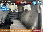Silver[Bright Silver Metallic] 2017 Ram 1500 Left Side Rear Seat  Photo in Winnipeg MB