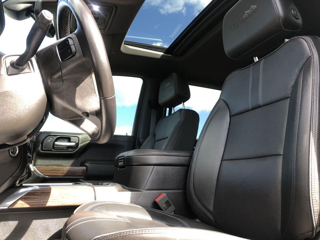 Black[Black] 2019 Chevrolet Silverado 1500 Left Front Interior Photo in Edmonton AB