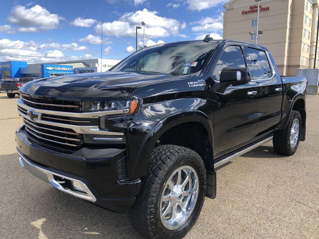Black[Black] 2019 Chevrolet Silverado 1500 Left Front Corner Photo in Edmonton AB