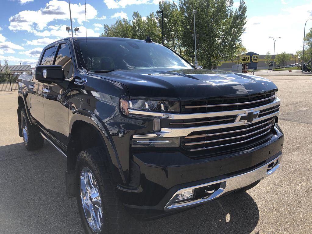 Black[Black] 2019 Chevrolet Silverado 1500 Right Front Corner Photo in Edmonton AB