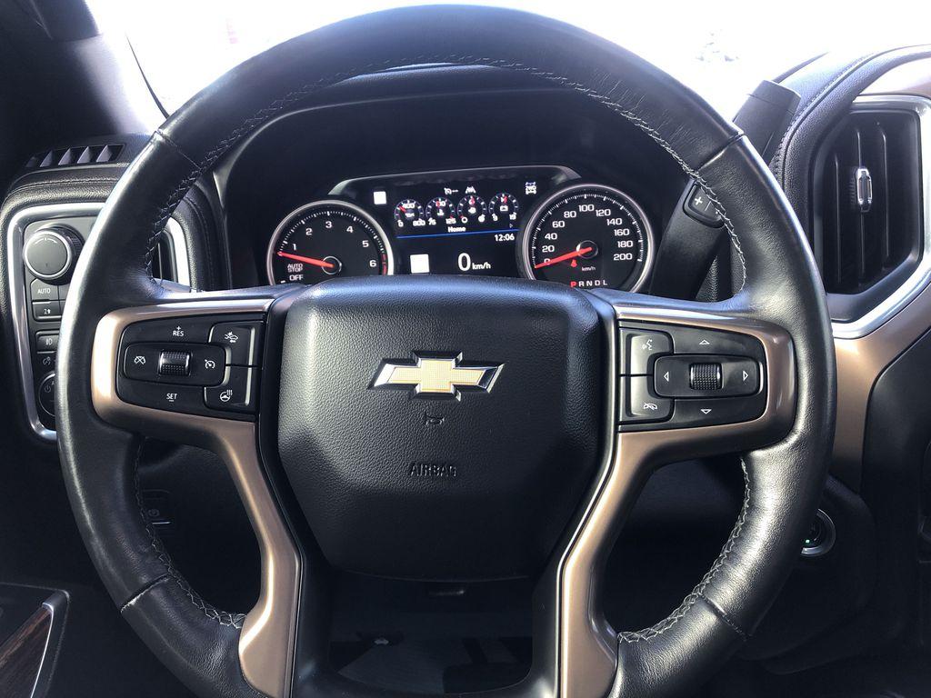 Black[Black] 2019 Chevrolet Silverado 1500 Strng Wheel: Frm Rear in Edmonton AB