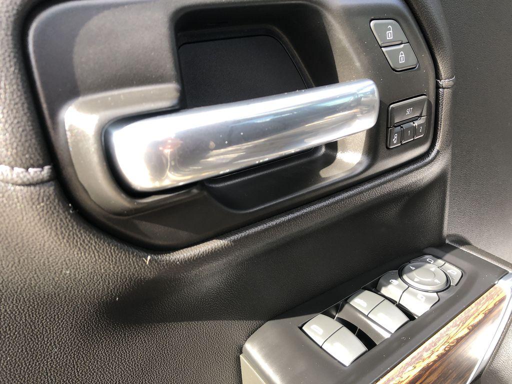 Black[Black] 2019 Chevrolet Silverado 1500  Driver's Side Door Controls Photo in Edmonton AB