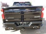 Black[Black] 2019 Chevrolet Silverado 1500 Rear of Vehicle Photo in Edmonton AB