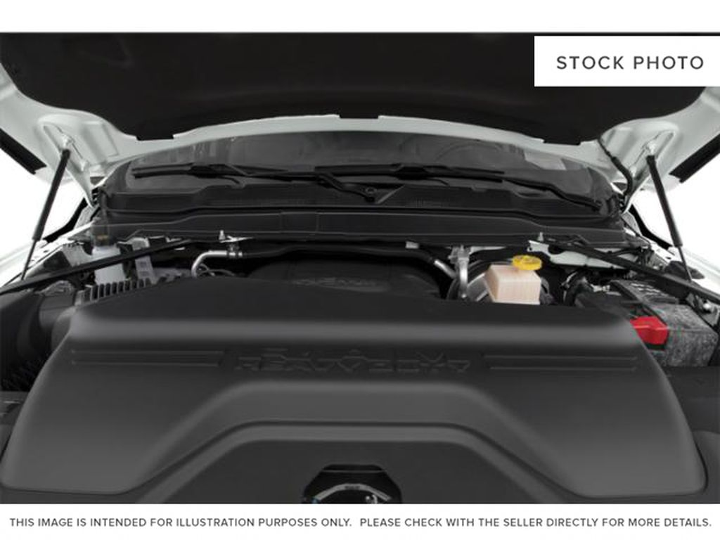 Black[Black] 2021 Ram 3500 Engine Compartment Photo in Fort Macleod AB