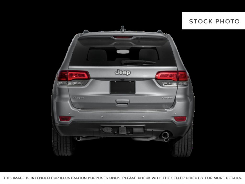 White[Bright White] 2021 Jeep Grand Cherokee Rear of Vehicle Photo in Fort Macleod AB