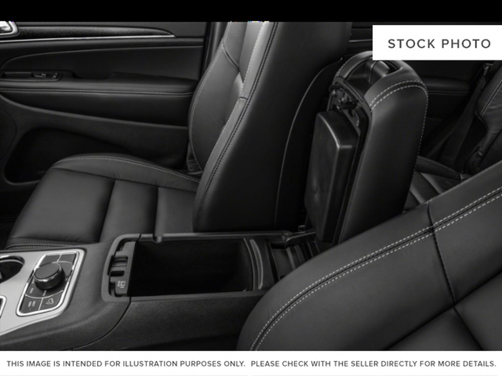 White[Bright White] 2021 Jeep Grand Cherokee Center Console Photo in Fort Macleod AB