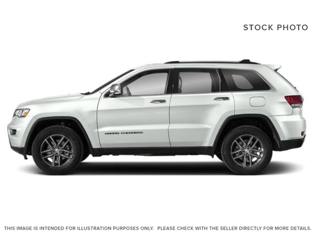 White[Bright White] 2021 Jeep Grand Cherokee Left Side Photo in Fort Macleod AB