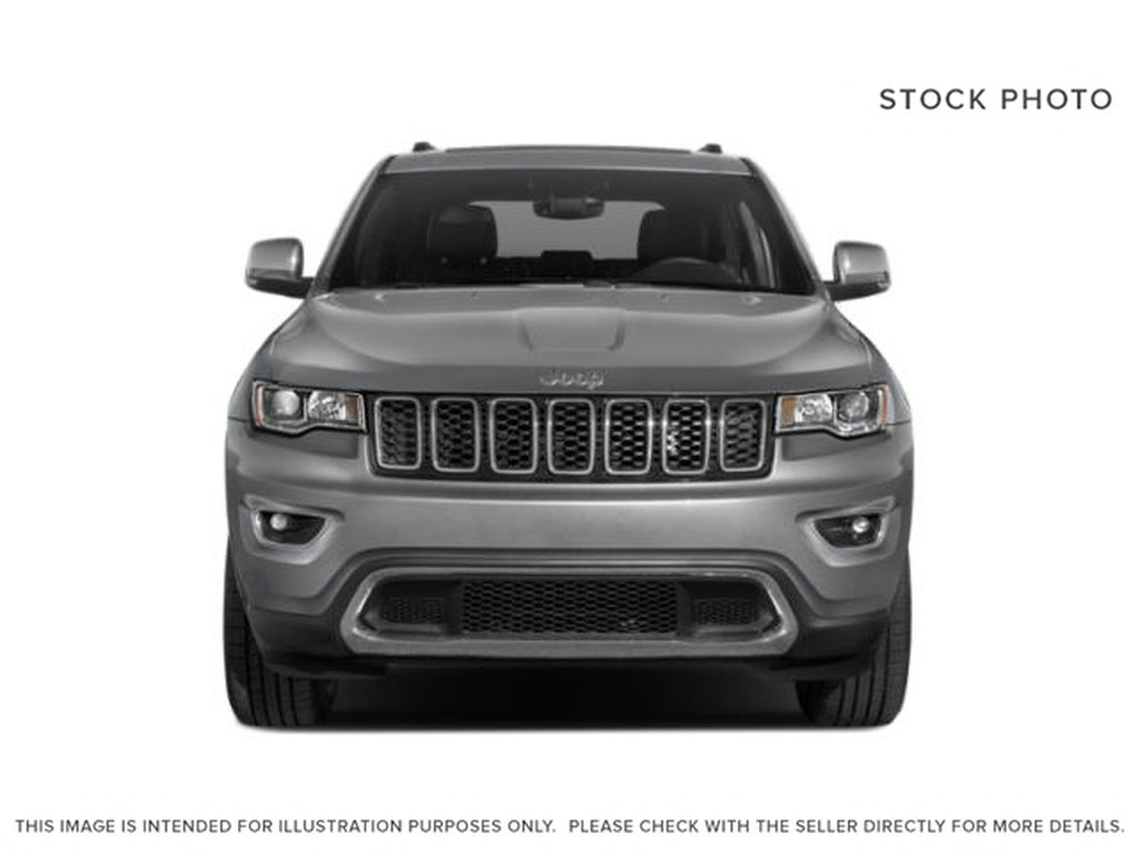 White[Bright White] 2021 Jeep Grand Cherokee Front Vehicle Photo in Fort Macleod AB