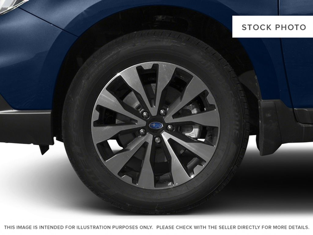 Blue[Lapis Blue Pearl] 2017 Subaru Outback Left Front Rim and Tire Photo in Lethbridge AB
