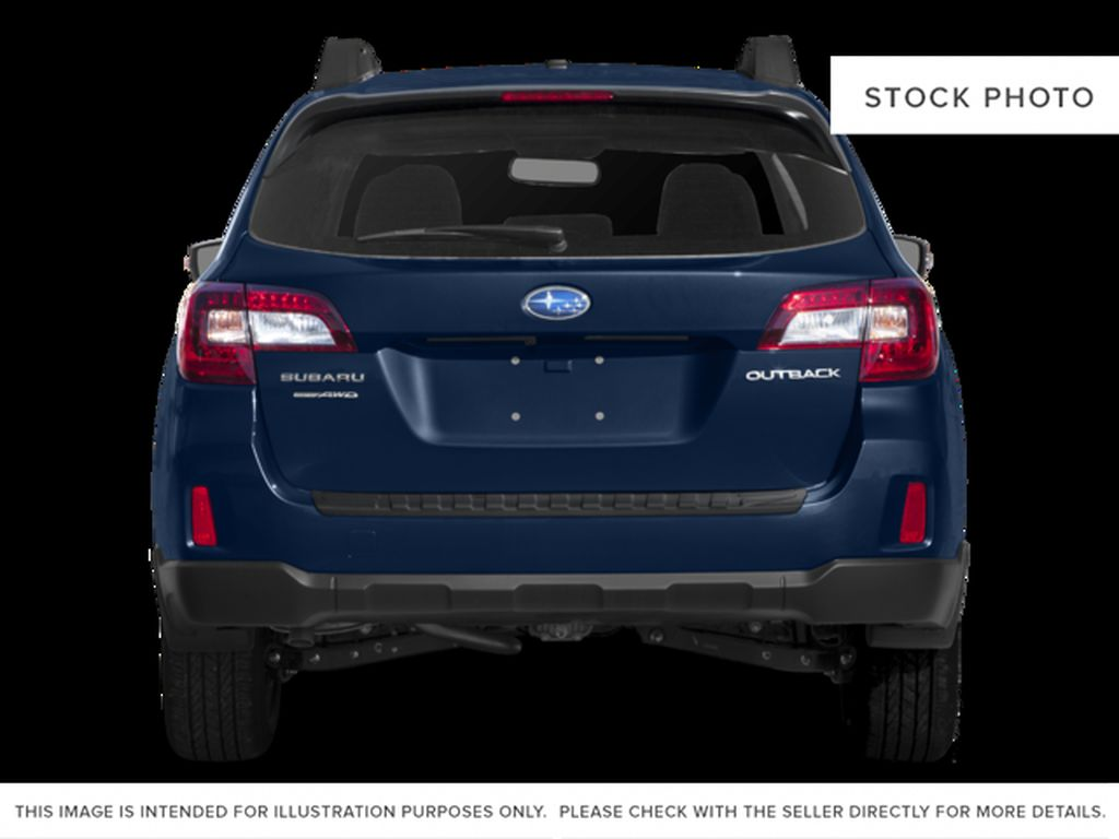Blue[Lapis Blue Pearl] 2017 Subaru Outback Rear of Vehicle Photo in Lethbridge AB