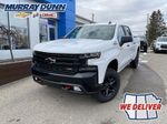 Summit White 2022 Chevrolet LT Trailboss Crew Cab Long Box Primary Photo in Nipawin SK