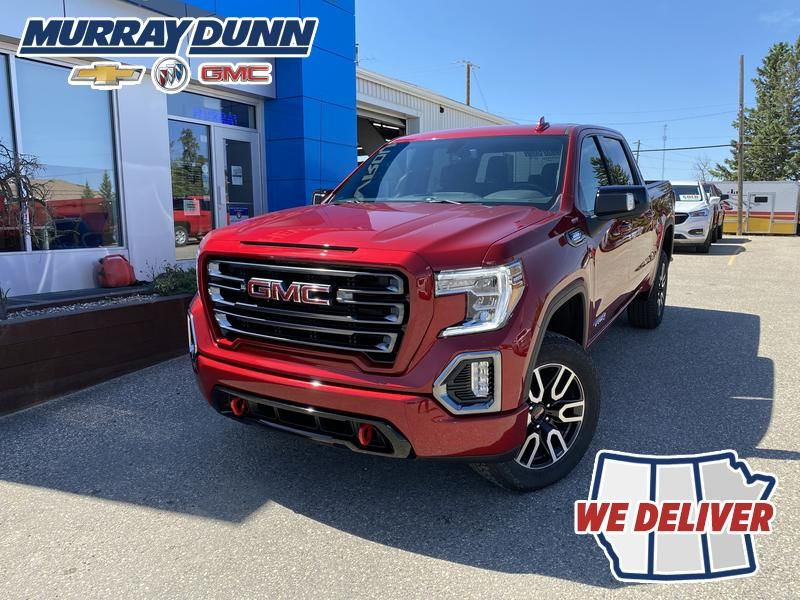 Cayenne Red Tintcoat 2022 GMC Sierra 1500 AT4 Long Box