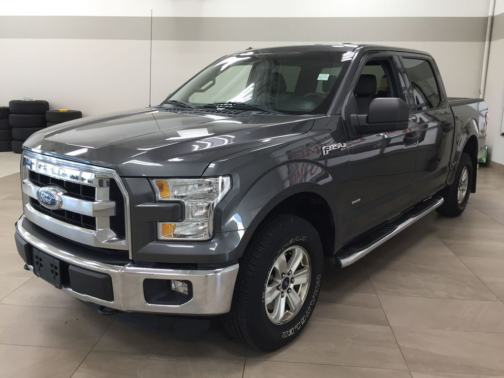 GREY 2015 Ford F-150 XLT 4X4 Left Front Corner Photo in Sherwood Park AB