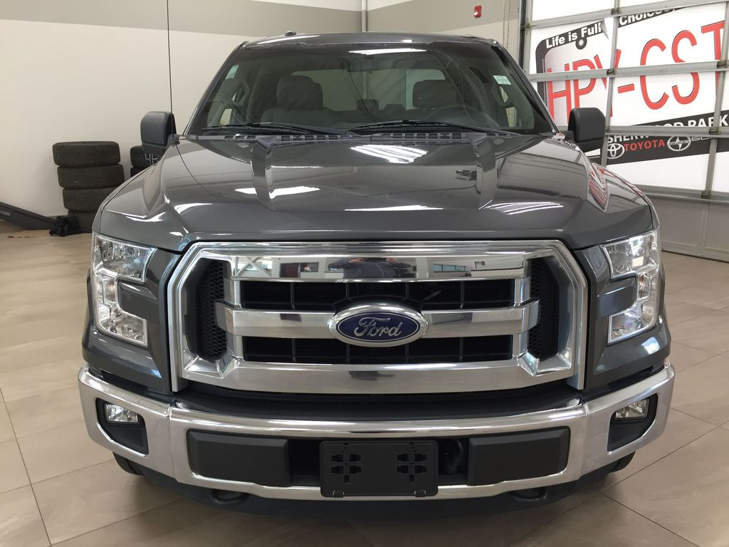 GREY 2015 Ford F-150 XLT 4X4 Front Vehicle Photo in Sherwood Park AB