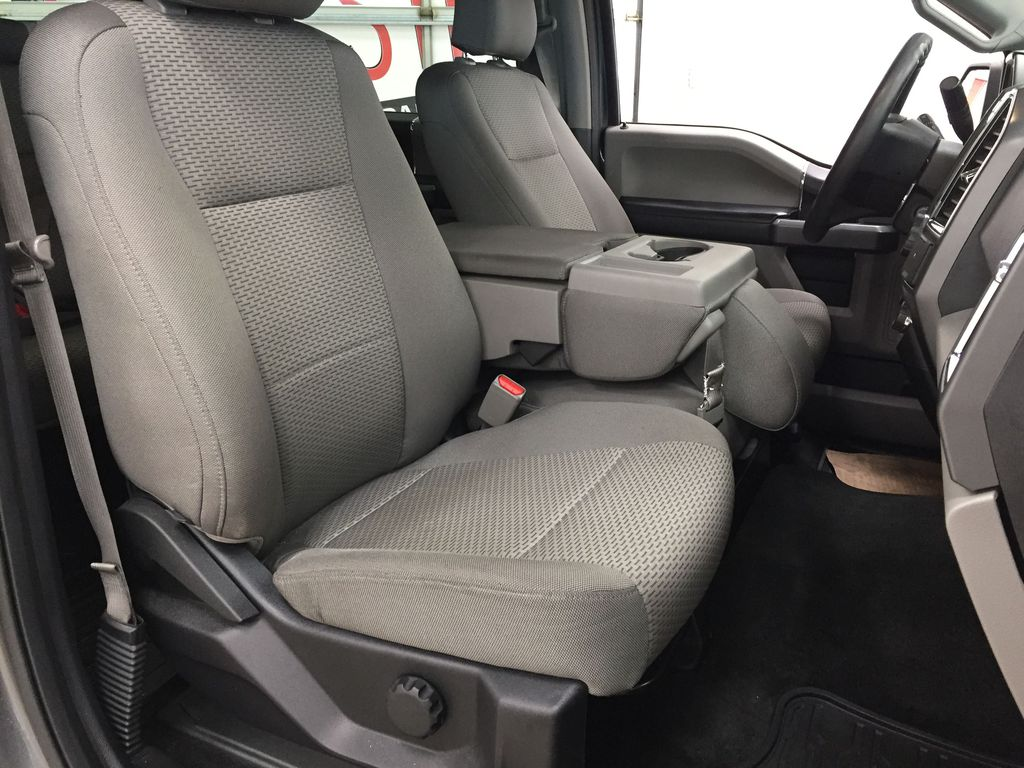 GREY 2015 Ford F-150 XLT 4X4 Right Side Front Seat  Photo in Sherwood Park AB
