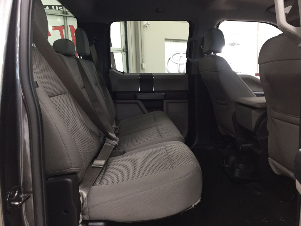 GREY 2015 Ford F-150 XLT 4X4 Right Side Rear Seat  Photo in Sherwood Park AB
