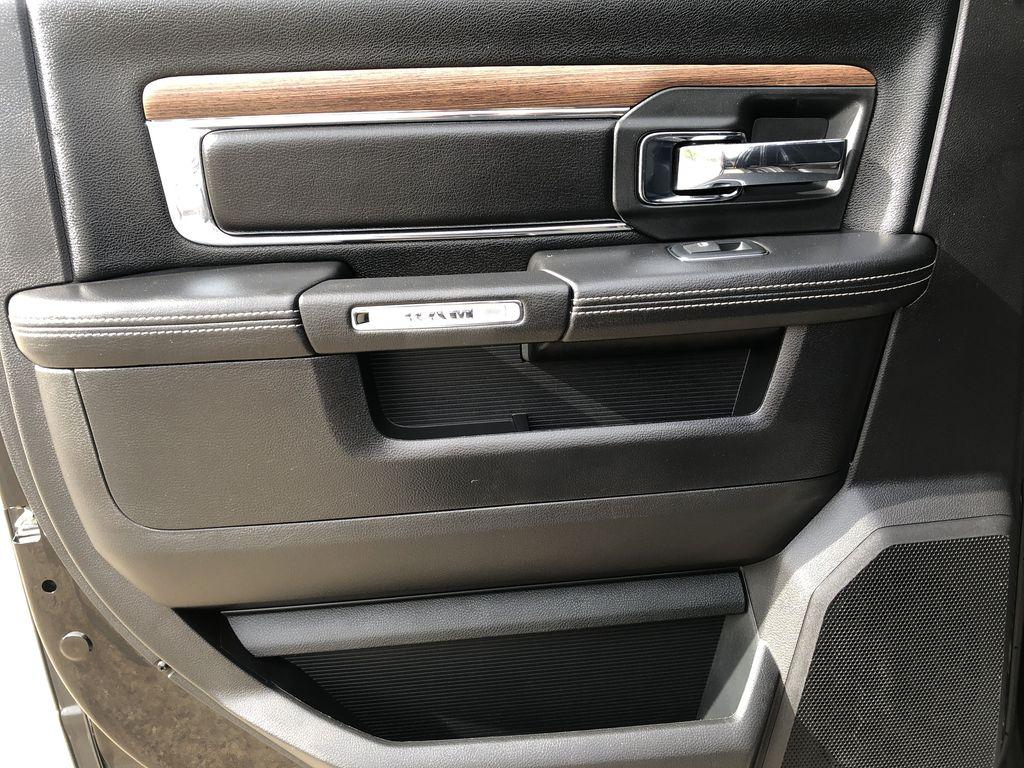 Black[Brilliant Black Crystal Pearl] 2017 Ram 2500 Left Rear Interior Door Panel Photo in Edmonton AB