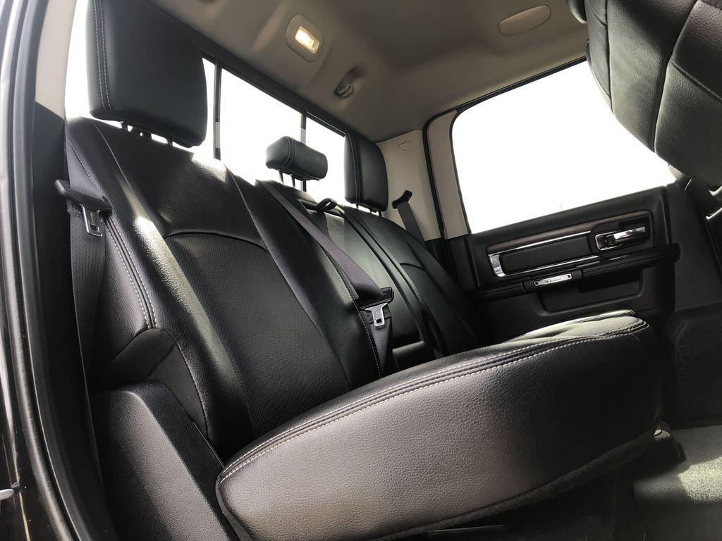 Black[Brilliant Black Crystal Pearl] 2017 Ram 2500 Right Side Rear Seat  Photo in Edmonton AB