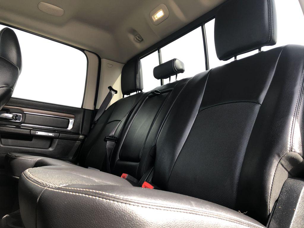 Black[Brilliant Black Crystal Pearl] 2017 Ram 2500 Left Side Rear Seat  Photo in Edmonton AB