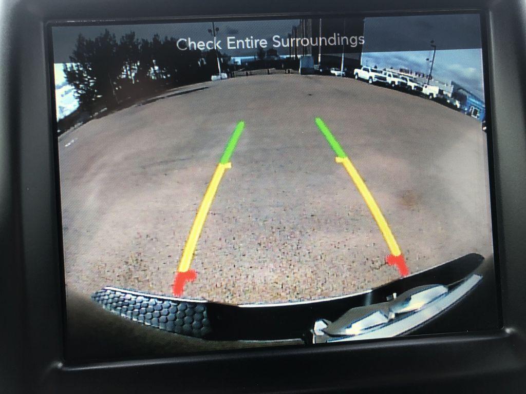Black[Brilliant Black Crystal Pearl] 2017 Ram 2500 Backup Camera Closeup Photo in Edmonton AB