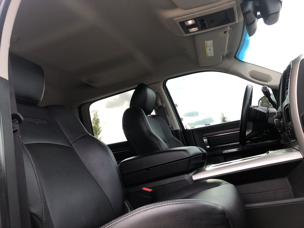 Black[Brilliant Black Crystal Pearl] 2017 Ram 2500 Right Side Front Seat  Photo in Edmonton AB
