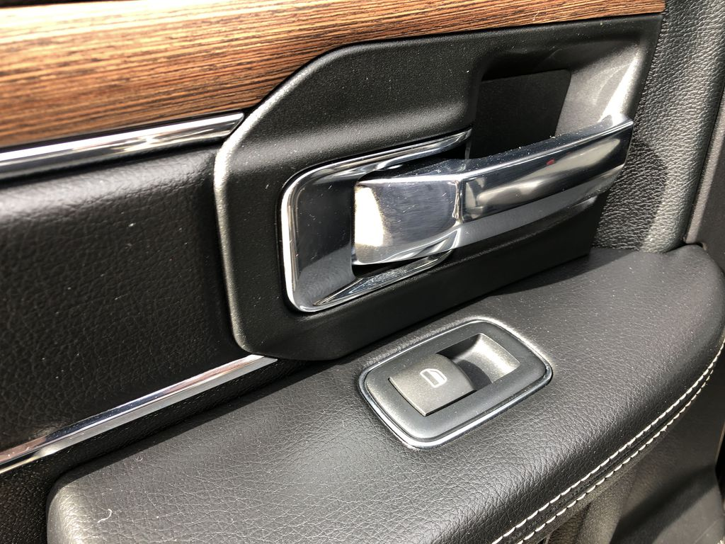 Black[Brilliant Black Crystal Pearl] 2017 Ram 2500 LR Door Panel Ctls Photo in Edmonton AB