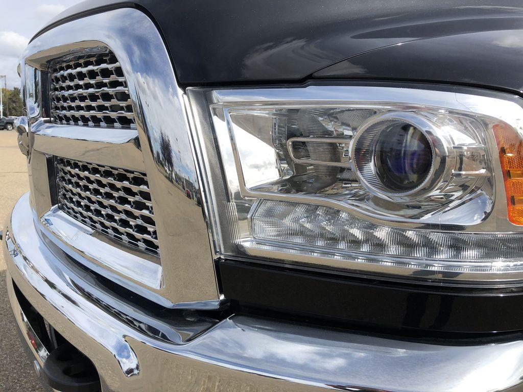 Black[Brilliant Black Crystal Pearl] 2017 Ram 2500 Left Front Head Light / Bumper and Grill in Edmonton AB