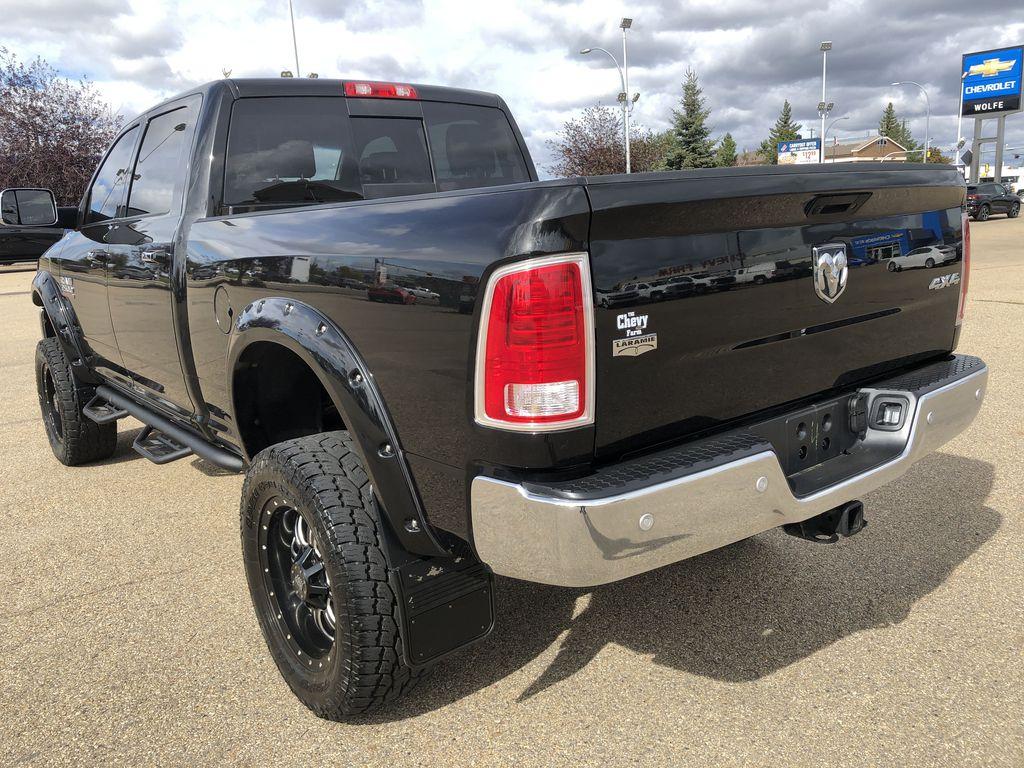 Black[Brilliant Black Crystal Pearl] 2017 Ram 2500 Left Rear Corner Photo in Edmonton AB