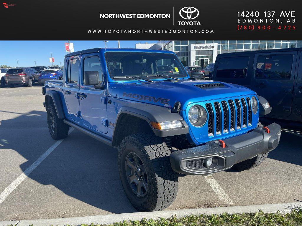 Blue 2021 Jeep Gladiator Mojave