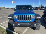 Blue 2021 Jeep Gladiator Mojave Left Front Interior Photo in Edmonton AB