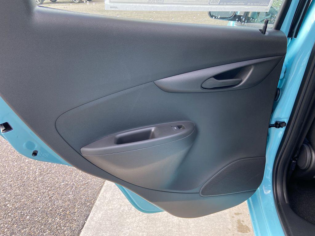 Blue[Mystic Blue] 2022 Chevrolet Spark LT Left Rear Interior Door Panel Photo in Calgary AB