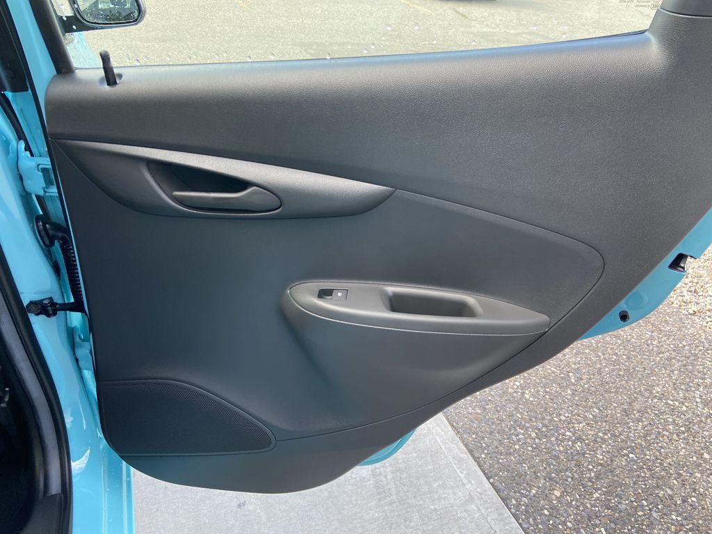 Blue[Mystic Blue] 2022 Chevrolet Spark LT Right Rear Interior Door Panel Photo in Calgary AB