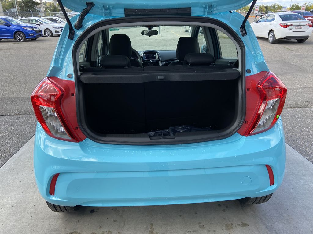 Blue[Mystic Blue] 2022 Chevrolet Spark LT Trunk / Cargo Area Photo in Calgary AB
