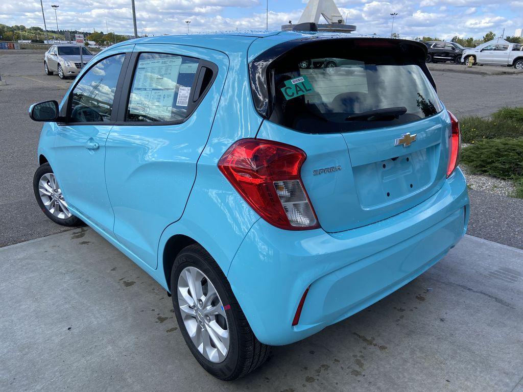 Blue[Mystic Blue] 2022 Chevrolet Spark LT Left Rear Corner Photo in Calgary AB