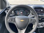 Blue[Mystic Blue] 2022 Chevrolet Spark LT Steering Wheel and Dash Photo in Calgary AB